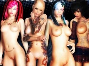 3D Bad Girls - nue photos XXX