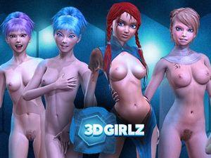 3D Girlz - XXX nue jeu porno