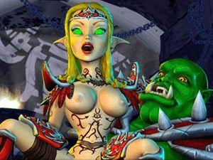 BoneCraft - porno elfe XXX jeu fantastique