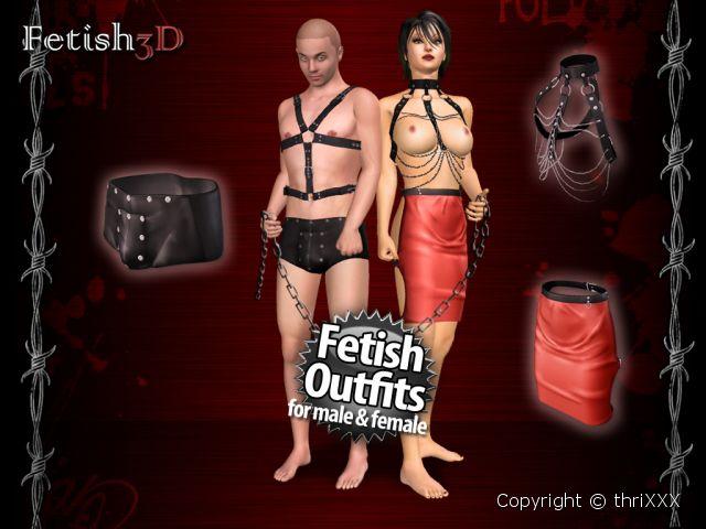 3D Fétiche - BDSM et bondage jeu XXX
