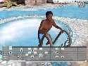 3D GayVilla 2 garcon de piscine noir posant