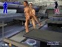 train virtuel baiser par derriere