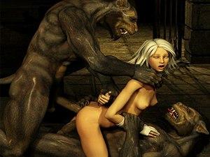 World Of Porncraft 3D - fantaisie monstre porno